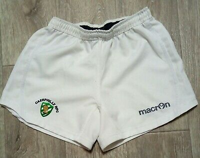 £14.99 • Buy CAERPHILLY RFC*Wales Rugby Union Shorts*Macron*Size XL