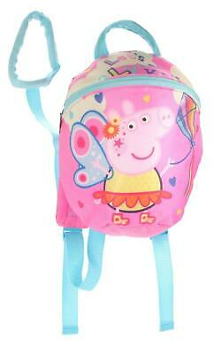 Peppa Pig Reins Backpack Toddler School Bag • 11.99£