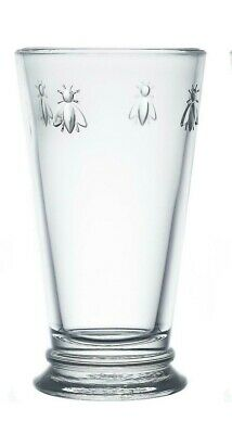 £10.50 • Buy La Rochere Bee Large Long Drink Glass Drinking Clear Glass Made In France 46cl