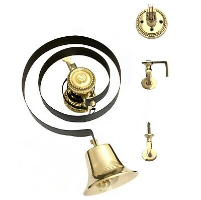 Victorian Butlers Bell Kit Only - No Pull, With Rope, Brass Bell & Pulleys 1004  • 57.94£