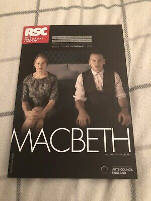 £5 • Buy Niamh Cusack (macbeth/ Heartbeat) Signed Theatre  Flyer