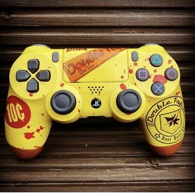 AU184.47 • Buy Custom PS4 Controller - Call Of Duty Zombies Double Tap Edition.