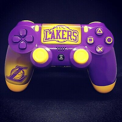 AU184.47 • Buy Custom PS4 Controller - Lakers Edition.