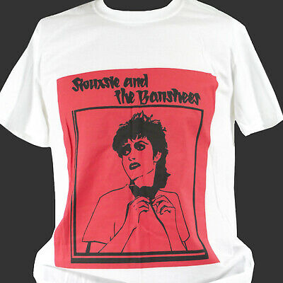 SIOUXSIE  AND THE BANSHEES PUNK ROCK T-SHIRT Unisex S-3XL • 12.99£