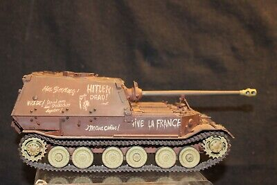 Elefant Panzer Jager Tiger Tank 1/35 Scale Assembled And Painted Model • 63.80£