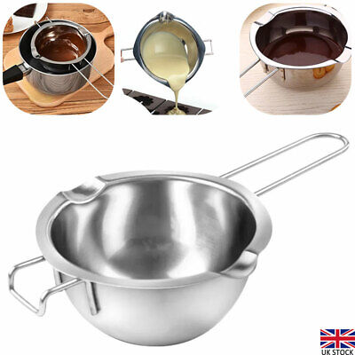 Stainless Steel Wax Melting Pot Double Boiler Kit For DIY Wedding Scented Candle • 7.01£