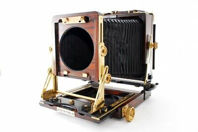 Wista Field 45DX 4x5 Rose Wood Large Format Field Camera Exc From Japan #7276 • 1,039.37£
