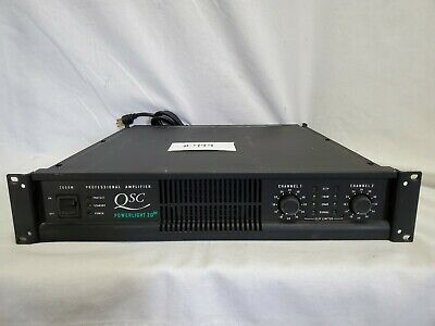 $ CDN634.34 • Buy Qsc Powerlight 2.0hv Power Amplifier 2000w #499 Good Used Condition - Working