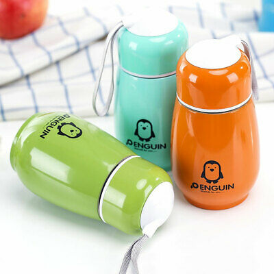 £4.99 • Buy 300ML Mini Color Stainless Steel Vacuum Flask Thermos Travel Mug Coffee Car Cup