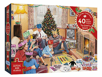 Gibsons PIECING TOGETHER -Spirit Of The 60s   40 PIECE  EXTRA-LARGE PIECE PUZZLE • 12.99£