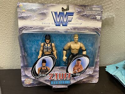 $ CDN17.13 • Buy Jakks Pacific WWF 2 Tuff Series 1 HHH Triple H & Chyna Action Figures HH