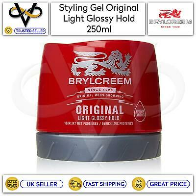 £6.95 • Buy Brylcreem Styling Gel Original For Men Light Glossy Hold Protein Enriched 250ml