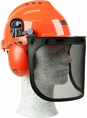 £23.41 • Buy Chainsaw Safety Helmet Mesh Visor Forestry Face Protective Metal Mask