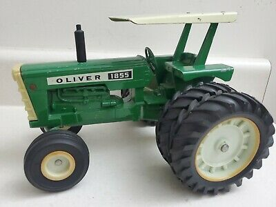 AU255.62 • Buy Oliver 1855 Duals/canopy 1/16 1974 Tractor ERTL