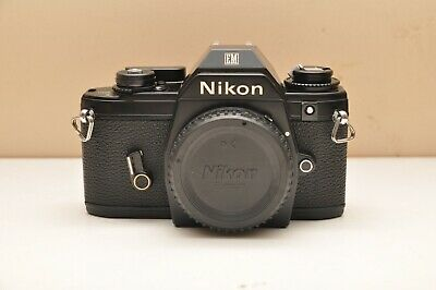 £51.59 • Buy Used Nikon EM 35mm SLR Film Camera Body Only Excellent Working Condition