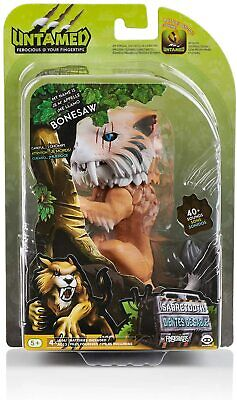 AU34.99 • Buy WowWee Fingerlings Saber Tooth Tiger Bonesaw Bronze Figure Interactive Toy Sound