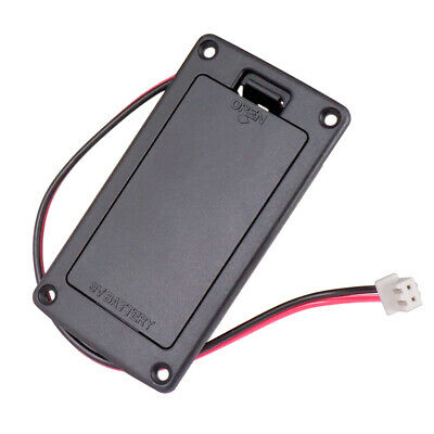 £4.45 • Buy 9V Battery Holder Case Box Cover For Guitar Active Pickup Connector Parts