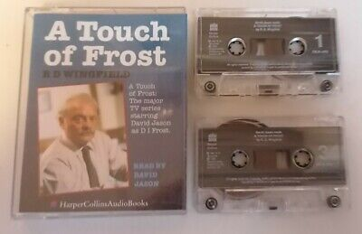 AUDIO BOOK - RD Wingfield A Touch Of Frost Read By David Jason X2 Tapes Audio • 5£
