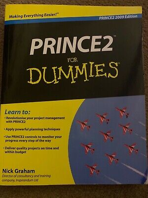 £10 • Buy Prince2 For Dummies 2009 Edition