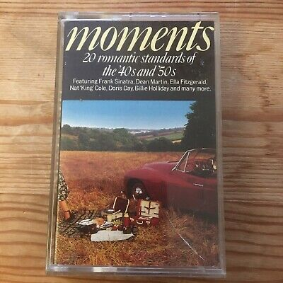 £4.99 • Buy Moments 20 Romantic Standards Of The 40s And 50s Cassette Tape Nat King Cole Etc