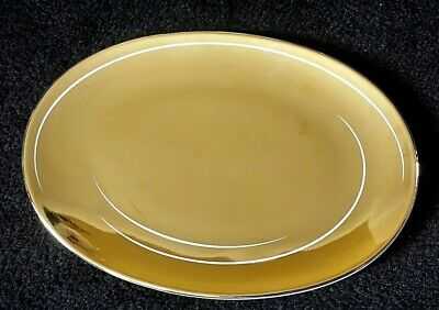 £14.99 • Buy Rosenthal Studio Line Gold Oval 7 Inch Plate X1(2 Avail)