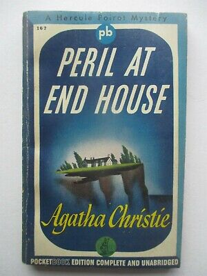 Peril At End House By Agatha Christie - Pocket Book #167, 1944 • 5.79£