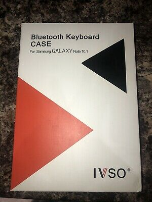 £15 • Buy IVSO Bluetooth Keyboard Case For Samsung Galaxy Note 10.1