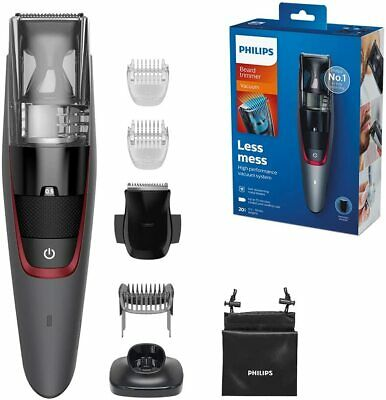 AU117.36 • Buy Philips Series 7000 Beard And Stubble Less Mess Vacuum Trimmer VALENTINES GIFT!