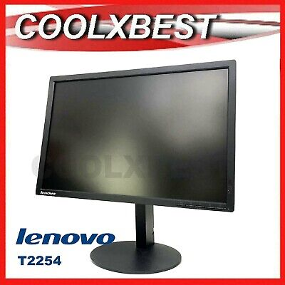 AU96.98 • Buy Rfb Lenovo 22  Thinkvision T2254pc Led Lcd Monitor Adjustable Stand Hdmi Vga