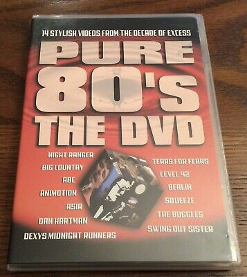 £17.45 • Buy Pure 80s: The DVD (DVD, 2002) Tears For Fears, Squeeze, Asia, Night Ranger...