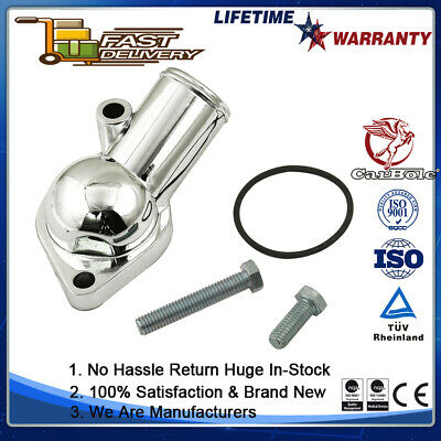 AU20.99 • Buy Water Neck Thermostat Housing 15 Degree For 1968-1986 Chevy 350 SBC BBC Chrome