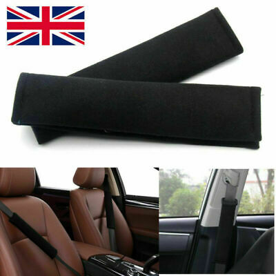 PAIR Car Seat Belt Cover Pads Car Safety Cushion Covers Strap Pad Adults Kids • 2.49£