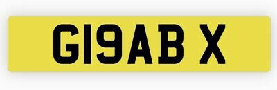 £799 • Buy Private Number Plate G19 ABX Grab Hire Tipper Skip Waste Rubbish Dirt Muck