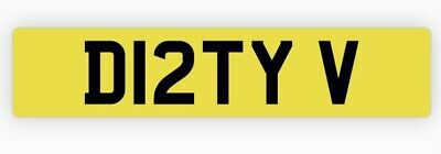 £999 • Buy Private Number Plate D12 TYV Car Valet Detail Skip Rubbish Grab Waste Dirty Muck
