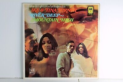 Ike And Tina Turner - DEEP RIVER MOUNTAIN HIGH Vinyl Lp A&M Records 1970 • 8.59£