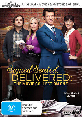 AU80.99 • Buy Hallmark Movies: Signed, Sealed, Delivered: The Movie Collection 1 [new Dvd]