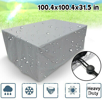 AU24.87 • Buy Waterproof Outdoor Furniture Cover Yard UV Garden Table Chair Shelter Protector.