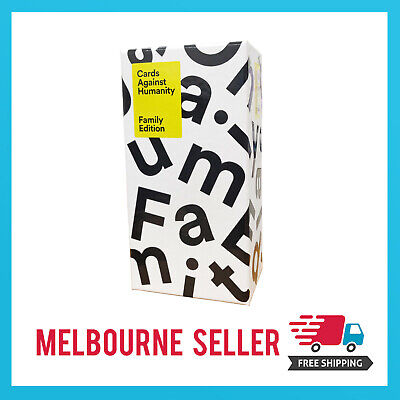 AU32.99 • Buy Cards Against Humanity: Family Edition Melbourne Stock