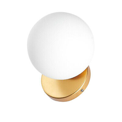 1pc Wall Lamp Decorative Round Modern Bedside Lamp For Bedroom Dining Room Hotel • 25.41£