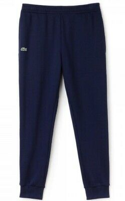 Lacoste Men's Joggers Navy Pants Essential Tracksuit Bottoms Cotton Cuffed New • 41.98£