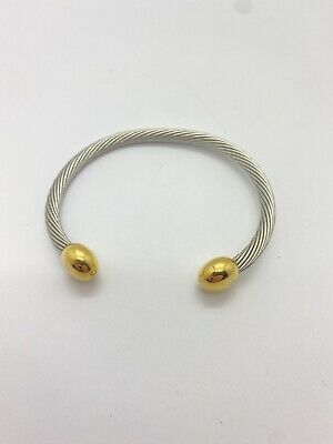 $ CDN33.48 • Buy Q-Ray 14k Gold Plated Combo Deluxe Bracelet Cuff Q Ray QRay Healing Health Small