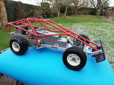 Thunder Tiger Challenger 1/8 Scale Vintage Off Road Buggy Brushless Conversion • 375£