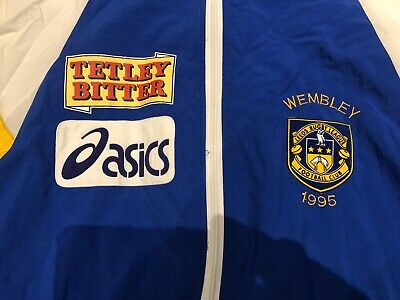 Leeds Rhinos Player Rugby League Jacket Not Shirt Wembley 1995 • 95£