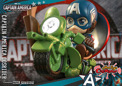 $ CDN72.78 • Buy New Hot Toys Marvel Cosbaby Cosrider Captain America Amusement Ride Led Sound
