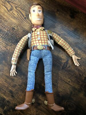 £71.67 • Buy Toy Story 1995 Thinkway Original 16  Woody Doll Talks Well. No Hat Collectible