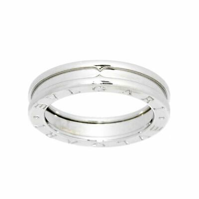 AU856.25 • Buy BVLGARI B-zero1 Ring 18K WG White Gold 750 Size55 7.25(US) 90118841