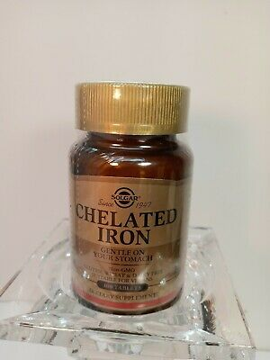 £6.55 • Buy SOLGAR Since 1947Chelated Iron 100 Tablets. None GMO, GLUTEN FREE VEGAN.EXP11/22