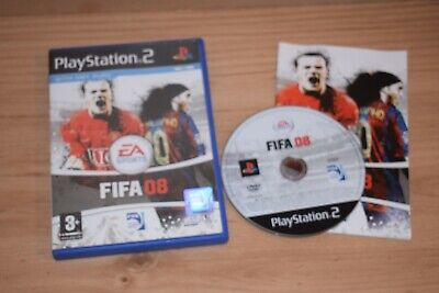 £2.95 • Buy Fifa 08 PS2 Sony Playstation 2 Game PAL With Manual