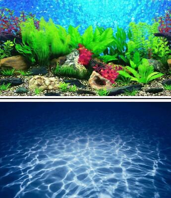 AU16.23 • Buy Aquarium Fish Tank Background Picture Poster Double Sided - 2 To 10 FT Lengths