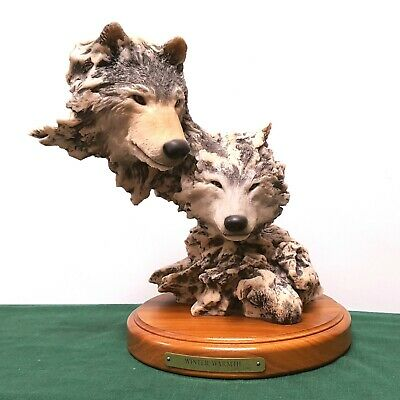 $149.99 • Buy Mill Creek Studios  Winter Warmth  Wolf Sculpture. Randall Reading. LE#1561/4000